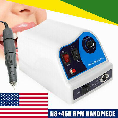 Marathon Dental Lab N8 Polishing Polisher Micromotor +45k rpm Motor Handpiece US