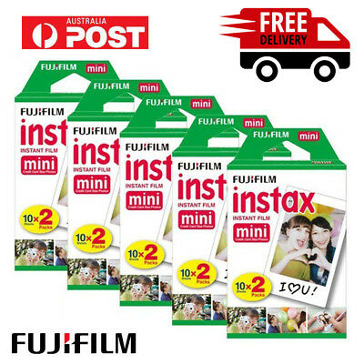 Fujifilm Instax Mini Film Plain White Fuji Instant Photo for Mini 90 8 70 25 AU