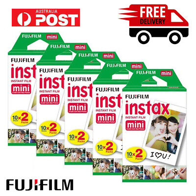 Fujifilm Instax Mini White 200 Instant Film for Fuji Mini 90 8 70 25 300 SP2 AU