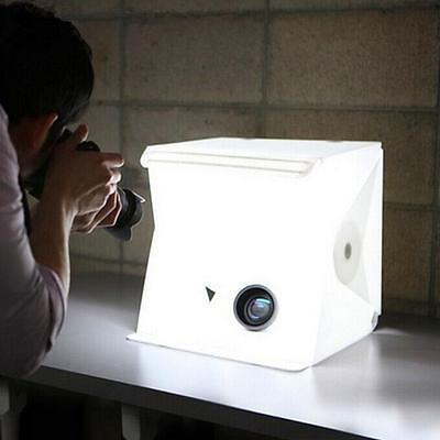 "40cm/16"" Portable Mini Photo Studio Box Photography Backdrop built-in Light Box"