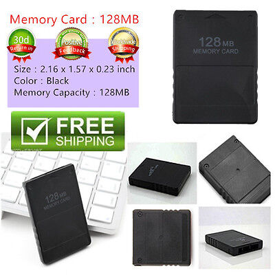 128MB Memory Card Save Game Data Stick Module For Sony PS2 PS Playstation IM