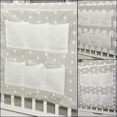 Baby Cot Tidy/toys Bag/organizer 100% Cotton!