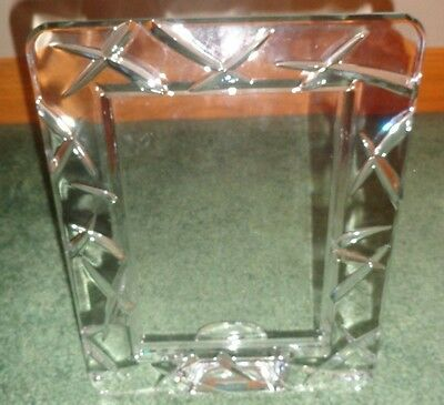 Marquis Waterford Crystal 5x7 Ceylon Picture Frame No Box 2500