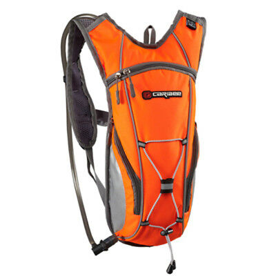 Caribee Hi Vis Flow Hydration pack with 2L Bladder