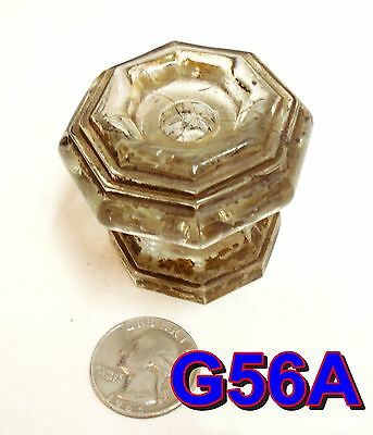 Early 1800's Sandwich Glass Furniture Knob antique door/drawer pull *G56A*