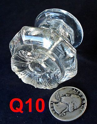 Early 1800's Sandwich Glass Furniture KNOB antique door/drawer pull *Q10*
