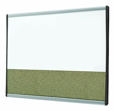 Quartet Arc Magnetic Dry Erase and Bulletin Combo Board 3413803875  CXX