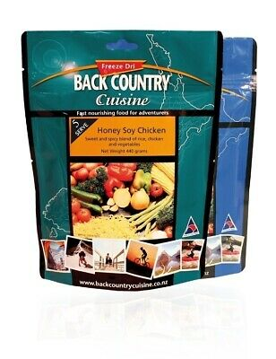 Back Country Freeze Dried Food  Honey Soy Chicken 5 Serve