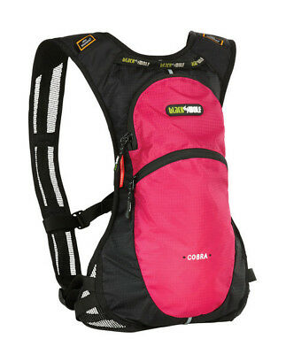 Black wolf Cobra II Hydration Pack 2L Bladder - Magenta