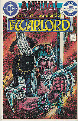 WARLORD ANNUAL 1...VF/NM...1982...Mike Grell...Bargain!