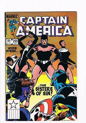 Captain America # 295 The Centre Cannot Hold ! grade 7.0 hot book !!