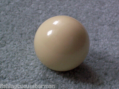 """White Cue Ball 1 7/8"""" for 2""""  Pool Ball Sets"""