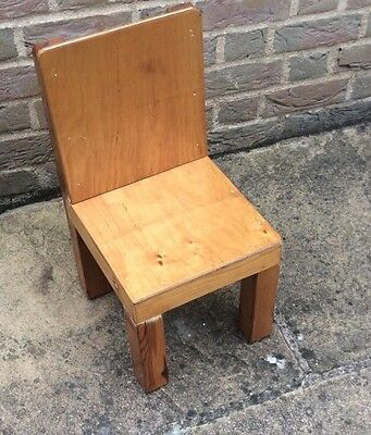 Children Solid Wooden Chair Well Made
