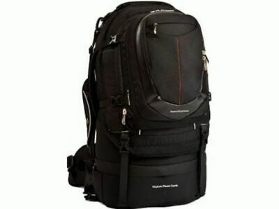 Explore Planet Earth Palooka 65L Travel Backpack Zip-off Daypack