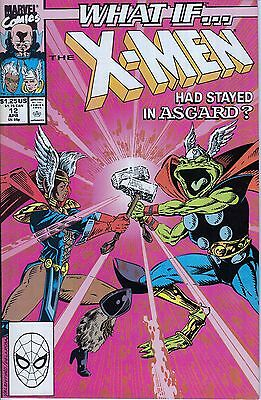 WHAT IF #12 Xmen...NM-..1990 Xmen Jim Valentino..HTF Bargain!