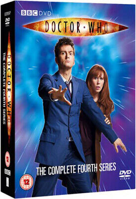 Doctor Who: The Complete Fourth Series DVD (2008) David Tennant cert 12 6 discs