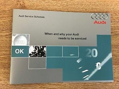Audi Service Book brand new not duplicate all models covered petrol and diesel//