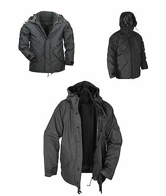 Voodoo Tactical 20-9376 Wind & Waterproof Ecw Extreme Cold Weather Parka Blk Xl