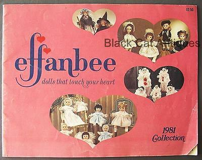 Original Vintage 1981 Effanbee Collection Doll Catalog
