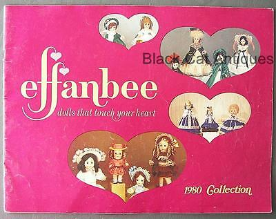 Original Vintage 1980 Effanbee Collection Doll Catalog