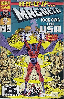 WHAT IF #47 Magneto... VF/NM ...1993... Kurt Busiek... HTF Bargain!