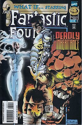 WHAT IF #89 ..Fantastic Four... VF/NM..1996.. Ben Raab...  Bargain!