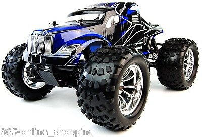 BUG CRUSHER 1/10 Scale RC Electric Monster 2.4Ghz Remote Controlled Off Road Car