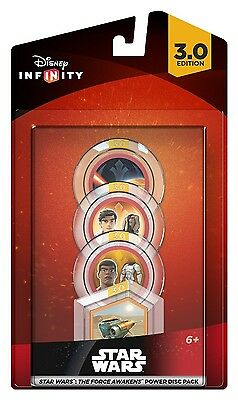 Toy Disney Infinity 3.0 Star Wars The Force Awakens Power Disc Pack New