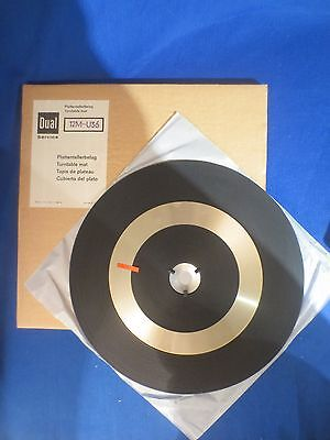 Nos Dual 1009F Turntable Mat 12M-U36 In Original Parts Box