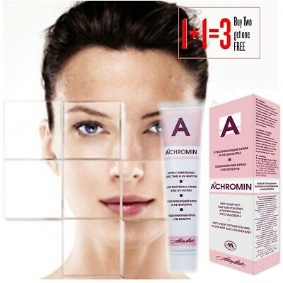 TOP Product Achromin Real Skin Whitening Cream Remove Dark Age Spot Buy2Get1FREE