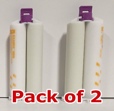 2X GC Examix NDS Heavy Body VPS Impression Material 48mL Cartridges Non-Gassing