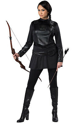 Brand New Warrior Huntress Hunger Games  Plus Size Costume