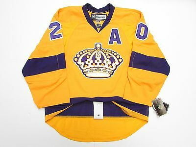 the best attitude 2f169 1cac2 LOS ANGELES KINGS AUTHENTIC VINTAGE sewn yellow small JERSEY ...