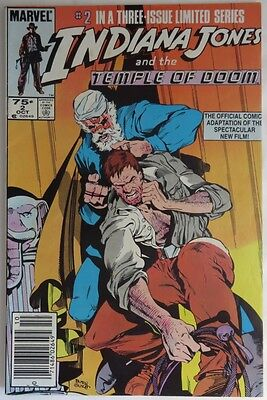 1984 Indiana Jones And The Temple Of Doom #2  -  Vg                   (Inv11957)