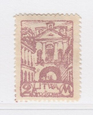 A2P40 CENTRAL LITHUANIA 1920 2m MH*