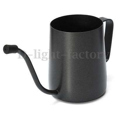 350ml Stainless Steel Pour Over Drip Kettle Gooseneck Narrow Spout Coffee Pot