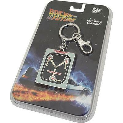 Back To The Future - Flux Capacitor Metal Keychain / Keyring - New & Official