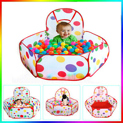 Portable Kids Outdoor / Indoor Game Play Children Toy Tent Ocean Ball Pit Pool