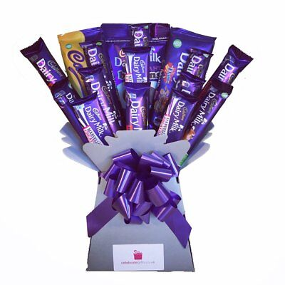 Cadbury Dairy Milk Collection Chocolate Bouquet - Sweet Hamper Tree