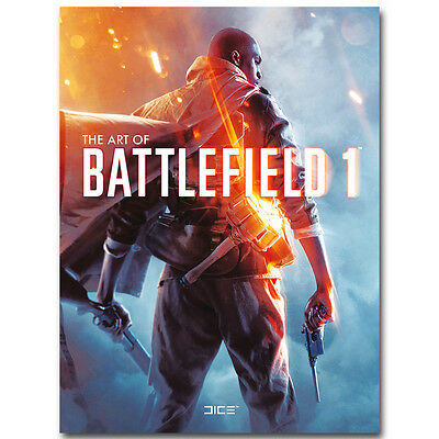 Battlefield 1 New Game Silk Poster 13x18 24x32inch