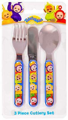 Teletubbies 3 Piece Cutlery Set | Knife, Fork and Spoon | Children's Cutlery