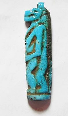 Zurqieh- Ao66- Ancient Egypt, 18Th Dynasty, Fainece Amulet Tawaret. 1400 B.c
