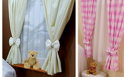 Baby Nursery Window Curtains / bedding set/Window decoration