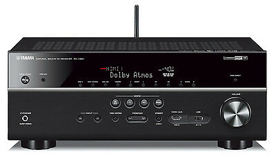 Yamaha RX-V681 7.2 Channel Network AV Receiver with Bluetooth. New. Opened Box.