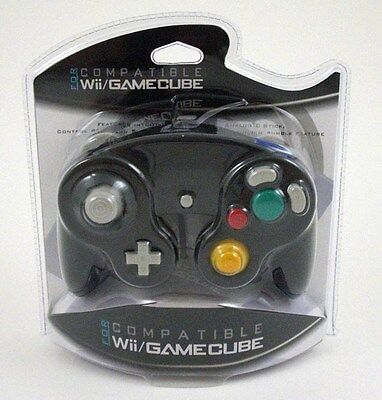 New Black Controller For Nintendo Gamecube / Wii