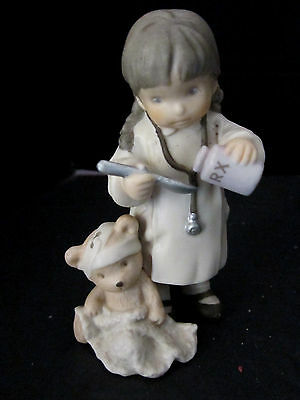 ENESCO CERAMIC 1996 Nurse Love Makes The Medicine Go Down 247006 Nursing
