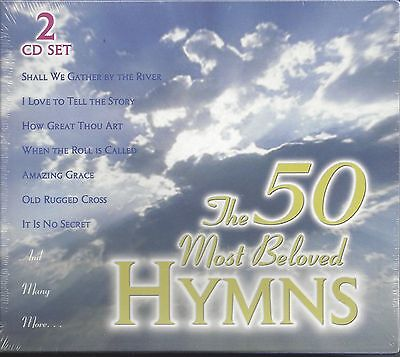 """VARIOUS ARTISTS  """"50 Most Beloved Hymns""""  NEW CONTEMPORARY CHRISTIAN 2 CD SET"""