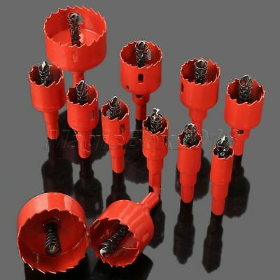 16mm-53mm M42 HSS Hole Saw Holesaw Drill Bits Metal Wood Alloy Pipe Cutter Tool