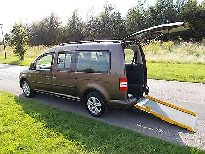 2011 Volkswagen Caddy Maxi Life 1.6 TDI Automatic WHEELCHAIR DISABLED ACCESSIBLE