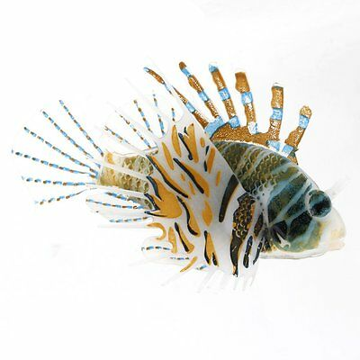 Aquarium Plastique flottant Eclatant Queue tremblement Lionfish Ornement